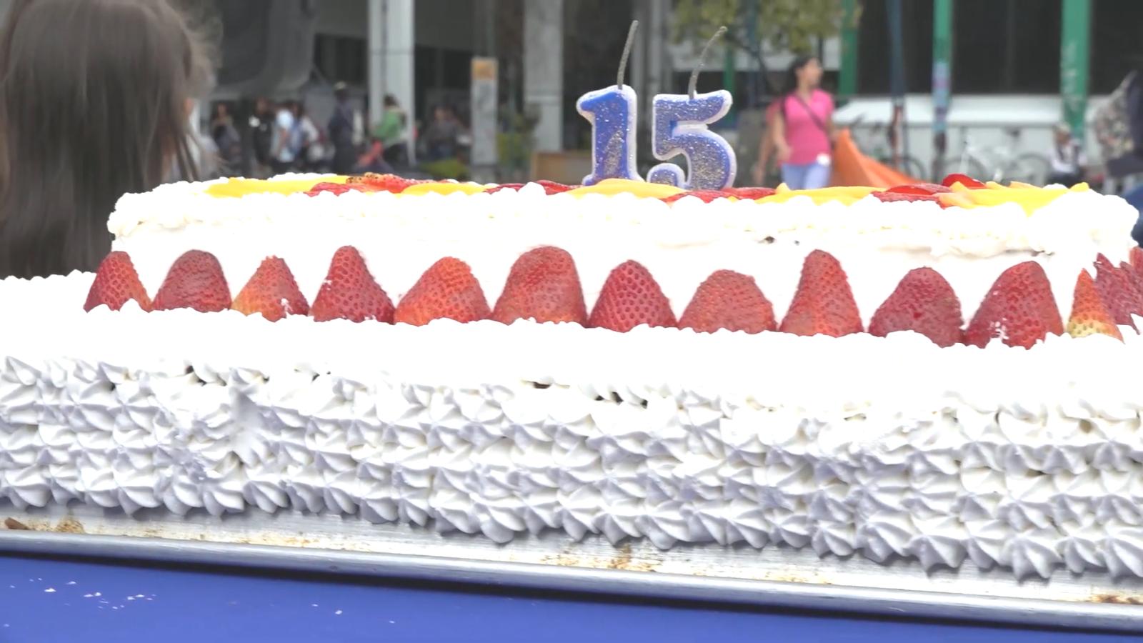 pastel de cumplaños